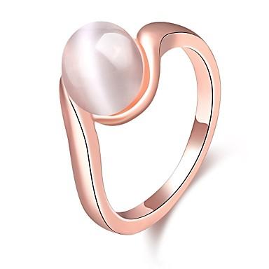 Dames Statementringen Kostuum juwelen Zirkonia Verguld Opaal  Sieraden Voor Bruiloft Feest Dagelijks Causaal