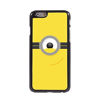 Para Capinha iPhone 6 Capinha iPhone 6 Plus Case Tampa Estampada Capa Traseira Capinha Brincadeira Com Logo da Apple Rígida Metal para