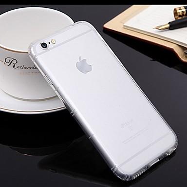 ultradunne TPU telefoon gevallen met gasbag schokbestendig voor iPhone 6&6s plus (5,5)