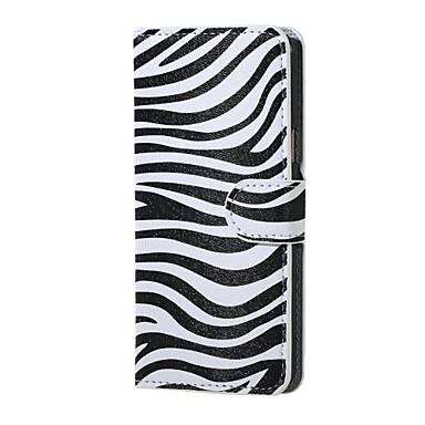 Para Samsung Galaxy Capinhas Case Tampa Com Suporte Flip Corpo Inteiro Capinha Linhas / Ondas Couro Ecológico para Samsung J5 (2016)