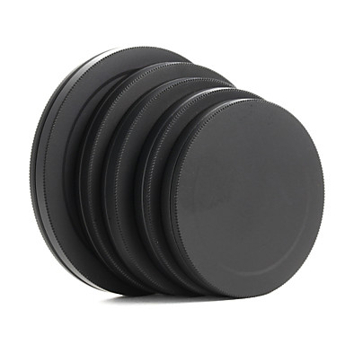 metal lens filter voor achter cap beschermende draagbare vak 52/55/58/62 / 67mm