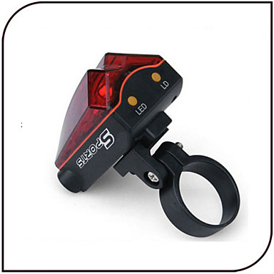 Fietsverlichting Achterlicht fiets Laser LED - Wielrennen Waterbestendig Laser AAA 80 Lumens Batterij Fietsen-XIE SHENG®