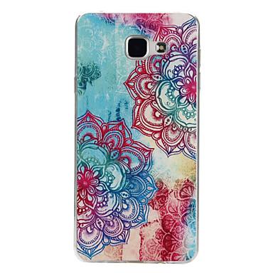 Para Samsung Galaxy Capinhas Estampada Capinha Capa Traseira Capinha Mandala TPU Samsung A7(2016) / A5(2016) / A3(2016)