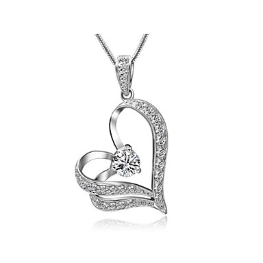 Dames Kristal Hangertjes ketting - Zilver Gouden Kettingen Voor Bruiloft Feest Dagelijks Causaal