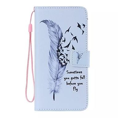 άγρια φτερό χήνα ζωγραφισμένα pu θήκη για ipod touch5 / 6 ipod περιπτώσεις / καλύμματα