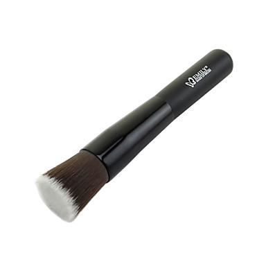 1pcs Makyaj fırçaları Profesyonel Fondöten Fırçası Sentetik Saç / Suni Fibre Fırça Bakterileri Kısıtlar