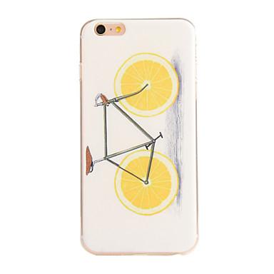 Voor iPhone 6 hoesje / iPhone 6 Plus hoesje Patroon hoesje Achterkantje hoesje Fruit Zacht TPU iPhone 6s Plus/6 Plus / iPhone 6s/6
