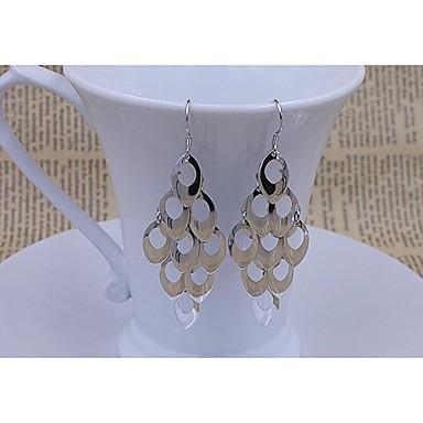 Druppel oorbellen Sterling zilver Sieraden Voor Bruiloft Feest Dagelijks Causaal 1 paar