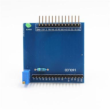 1602 lcd schild uitbreidingskaart module voor Arduino + Raspberry Pi - Blauw