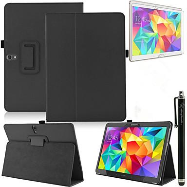 Voor met standaard / Automatisch aan/uit / Flip hoesje Volledige behuizing hoesje Effen kleur Hard PU-leer Samsung Tab S 10.5