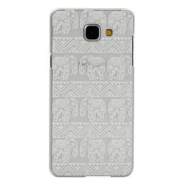 Voor Samsung Galaxy hoesje Hoesje cover Transparant Patroon Achterkantje hoesje Olifant PC voor Samsung A7(2016) A5(2016) A3(2016) A9 A5