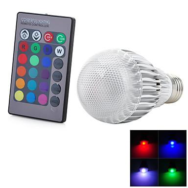 E26/E27 Lâmpada de LED Inteligente T 1 leds LED Integrado 50-300lm RGB noK Controle Remoto Decorativa AC 85-265