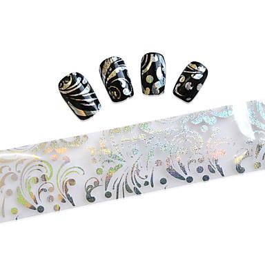 10 Adesivos para Manicure Artística Desenho Adorável maquiagem Cosméticos Designs para Manicure