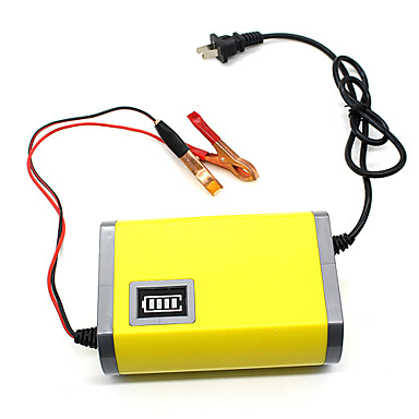 carregador de bateria 12v 6a para o automóvel motocicleta