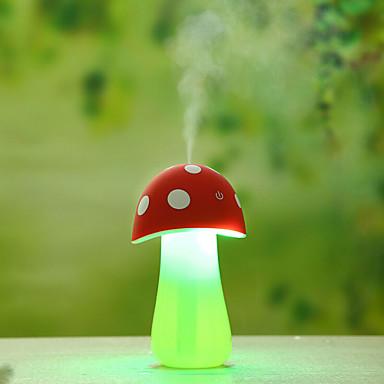 lâmpadas multifuncionais casa aroma levou com luz difusor de ar purificador de bom umidificador cogumelo noite (cores sortidas)