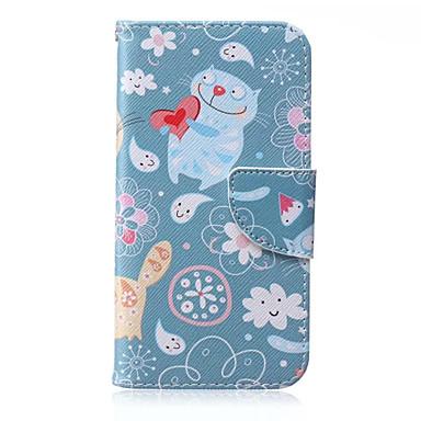 Para Samsung Galaxy Capinhas Carteira / Porta-Cartão / Com Suporte / Flip Capinha Corpo Inteiro Capinha Desenho Couro PU SamsungJ7 / J5 /