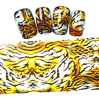 5PCS Nagelkunst sticker Cartoon Schattig make-up Cosmetische Nagelkunst ontwerp