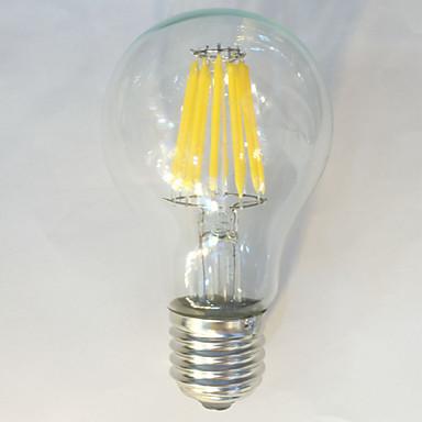 1pc 12W 1050 lm E26/E27 LED Filament Bulbs A60(A19) 12 leds COB Waterproof Decorative Warm White Natural White AC 220-240V