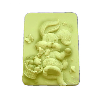 Tavşan Şekilli Bake Kalıp, W9.5cm x L7.6cm x H3.1cm