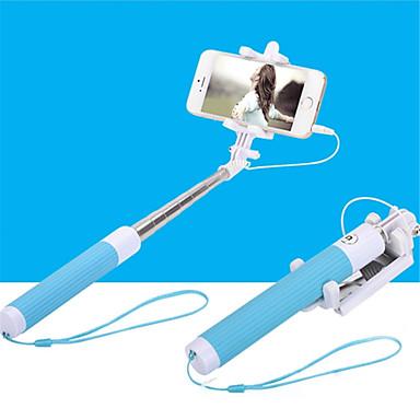 voordelige Bluetooth selfiestick-nieuwe sub-spiegel het dragen van de zelfontspanner hendel artefact self-wire besturing