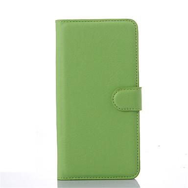 용 HTC케이스 지갑 / 카드 홀더 / 스탠드 / 플립 케이스 풀 바디 케이스 단색 하드 인조 가죽 HTC