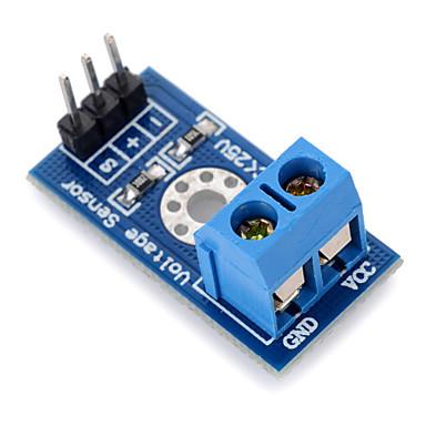 detecção de tensão tensão módulo de blocos de construção electrónicos do sensor para arduino