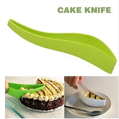 Bakeware eszközök Műanyag Környezetbarát Jó minőség Csokoládé Keksz Torta Vágók Cake Cutter