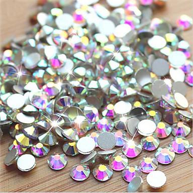 웨딩-핑거 / 발가락-다른 데코레이션-이 외-1pack (approx.1000pcs) AB Nail rhinestones-1.4mm,1.6mm,1.8mm