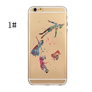 Cartoni 6 Transparente iPhone iPhone Per 6 animati Plus TPU iPhone retro per Apple Custodia iPhone Plus 6s Morbido 7 Per 04894038 iPhone 7 Plus xqI0UXwUv