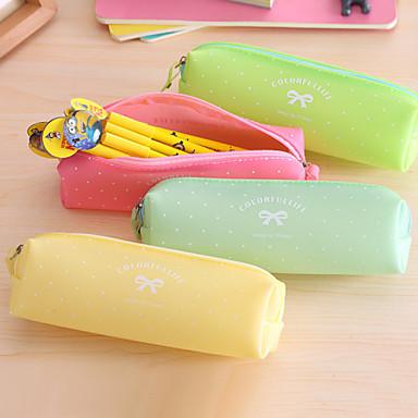 Groen / Roze / Geel-Schattig / Zakelijk / Multifunctionele-Rubber-Vaste zakken-
