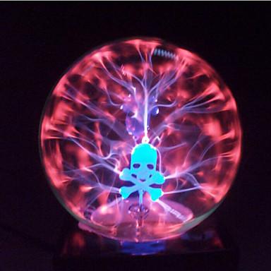magic pohár plazma golyó gömb koponya, 4 hüvelykes elektronikus magic ball kreatív kézműves díszek születésnapi ajándék gyerekeknek