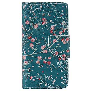 Para Capinha Sony / Xperia Z5 Carteira / Porta-Cartão / Com Suporte / Flip Capinha Corpo Inteiro Capinha Árvore Rígida Couro PU para Sony