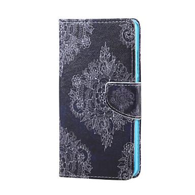 케이스 커버 Huawei 용 화웨이 케이스 지갑 카드 홀더 스탠드 플립 만다라 하드 Honor 5X 용