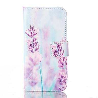 Kılıf Na Apple iPhone 6 iPhone 6 Plus Etui na karty Portfel Z podpórką Pełne etui Kwiaty Twarde Skóra PU na iPhone 6s Plus iPhone 6s