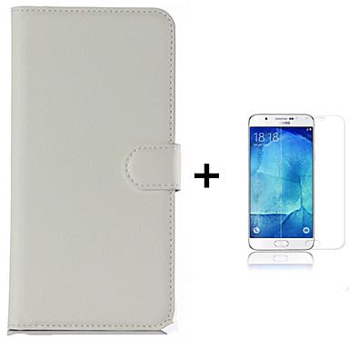 Case Kompatibilitás Samsung Galaxy Kártyatartó Pénztárca Állvánnyal Flip Héjtok Egyszínű Kemény PU bőr mert J7