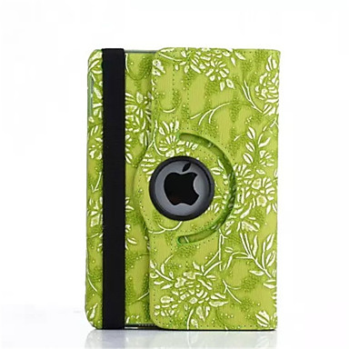 360 fokos szőlő gabona pu bőr felhajtható fedél tok iPad mini 4 (vegyes színek)