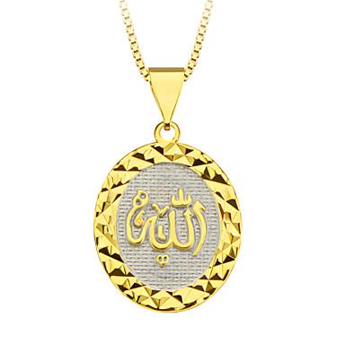 18K 골드 여성 / 남성 선물 도매 p30140에 대한 알라 프리즘 펜던트 특별한 디자인 보석 도금