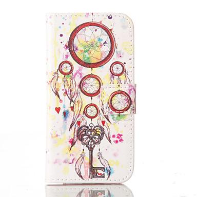 Case Kompatibilitás iPhone 5 Apple iPhone 5 tok Kártyatartó Állvánnyal Héjtok Álomfogó Kemény PU bőr mert iPhone SE/5s iPhone 5