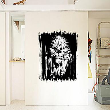 카툰 / 휴일 / 빈티지 벽 스티커 플레인 월스티커,PVC 45X60X0.1