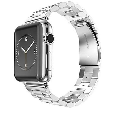 시계 밴드 Apple Watch Series 3 / 2 / 1 용 Apple 나비 버클 스테인레스 스틸 손목 스트랩
