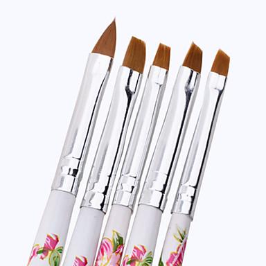 1set 5db akril UV zselé köröm design set bélés festés pontozás ecsettel toll építő akril