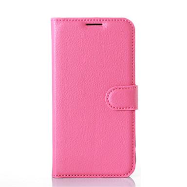 Mert LG tok Kártyatartó / Pénztárca / Állvánnyal / Flip Case Teljes védelem Case Egyszínű Kemény Műbőr LGLG K8 / LG K7 / LG G5 / LG G4 /