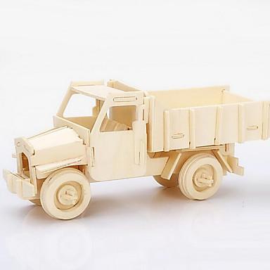 Puzzles Construction En Jouets Bois Véhicule Camion Pièces Modèle Petites Voitures 3d De Puzzle vN8nw0m