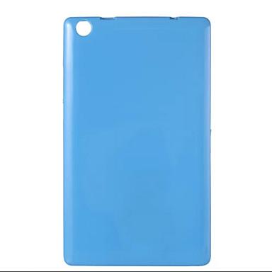 Case Kompatibilitás Lenovo Fekete tok Egyszínű Puha TPU mert Lenovo Tab 2 A8-50