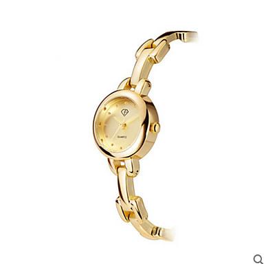 Női Divatos óra Kvarc Vízálló Rozsdamentes acél Zenekar Ezüst Arany Ezüst Aranyozott