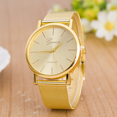 Pentru femei Ceas de Mână Ceas La Modă Quartz Aliaj Bandă Casual Auriu