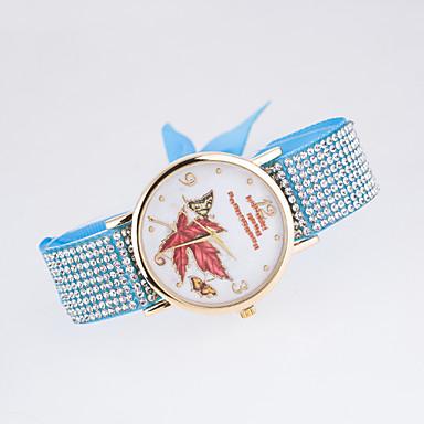 아가씨들 패션 시계 모조 다이아몬드 시계 석영 섬유 밴드 블랙 화이트 블루 레드 브라운 그린 핑크 퍼플 로즈
