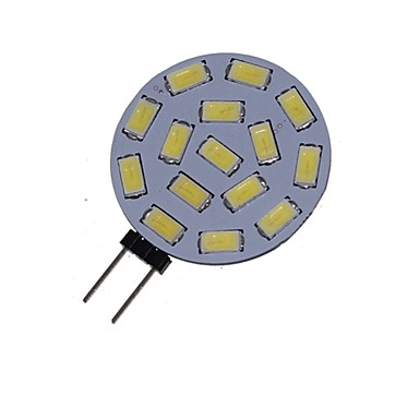 5 W 3000-3500/6000-6500 lm G4 LED Spotlight MR11 15 LED Beads SMD 5730 Decorative Warm White / Cold White 12 V / 24 V / 1 pc / RoHS