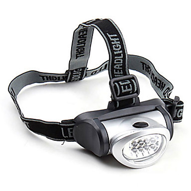 2 Czołówki LED 200 lm 2 tryb oświetlenia Wodoodporny / Ruchoma głowica Kemping / turystyka / eksploracja jaskiń / Do użytku codziennego / Łowiectwo
