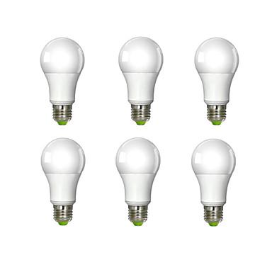 980 lm E26/E27 LED Λάμπες Σφαίρα A60(A19) 1 leds COB Ψυχρό Λευκό AC 100-240V